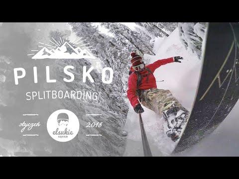 2018 Pilsko Freeride – snowboard splitboard