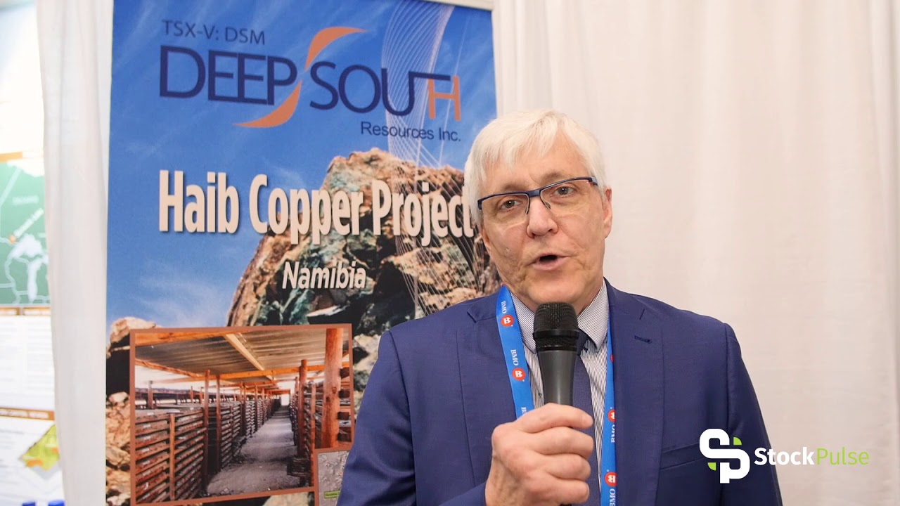 Deep South Resources Catalyst Clip with President & CEO Pierre Léveillé at the 2018 PDAC in Toronto