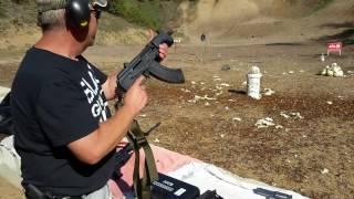 Micro Draco AK47 Vs Cabbage