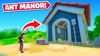 *NEW* ANT MANOR Location In Fortnite!