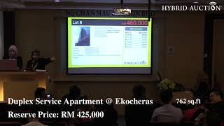 Bidding Battle for Ekocheras Duplex Service Apartment!