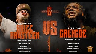 CALICOE VS BRIZZ RAWSTEEN SMACK/ URL RAP BATTLE | URLTV