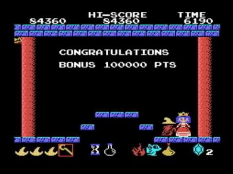 [MSX GAMES] Magical Kid WIZ 魔法使いウィズ ▶3Round CLEAR/ENDING