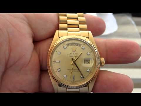 INVEST IN SOLID GOLD ROLEX WATCHES – if you need a Plan B