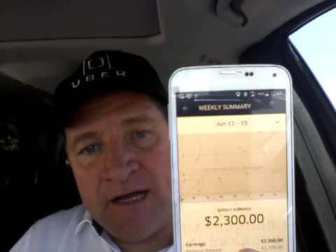 How to make $4,000 each week with Uber.