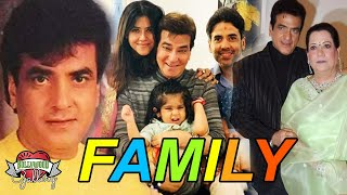 Jeetendra Family With Parents, Wife, Son, Daughter, Brother and Grandson