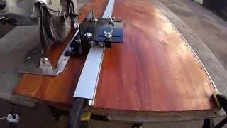 30.Как идеально ровно раскраивать ручной циркулярной пилой древесные материалы