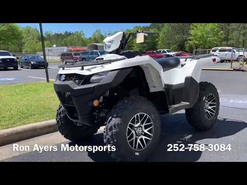 2019 Suzuki KingQuad 750AXi Power Steering SE in Greenville, North Carolina - Video 1