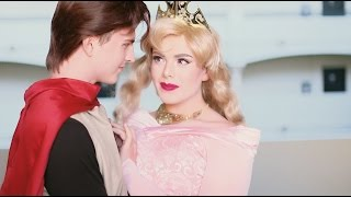 You won't believe how this guy transforms into a Disney princess