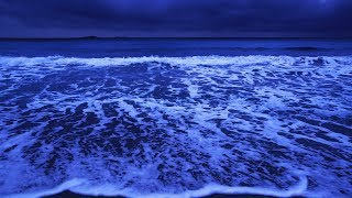 Fall Asleep With Waves All Night Long, Ocean Sounds For Deep Sleeping On Santa Giulia Beach
