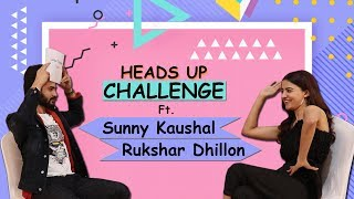 HILARIOUS 'Heads Up Challenge' Ft. Sunny Kaushal & Rukshar Dhillon | Bhangra Paa Le