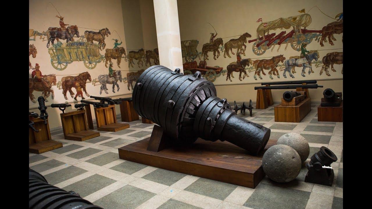 """Der """"Pumhart von Steyr"""" - Die größte Riesensteinbüchse der Welt"""