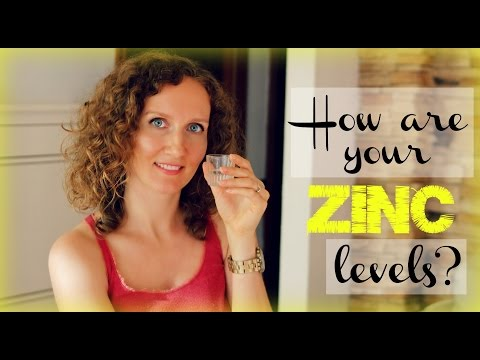 Video How To Test Your Zinc Levels At Home + Zinc Deficiency Symptoms