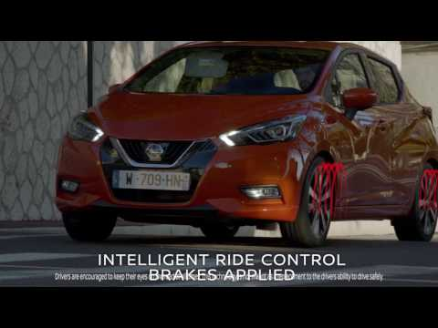 The All-New Nissan Micra: Intelligent Ride control