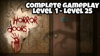 100 Doors Horror ( Complete Gameplay ) - By NSP Apps | Android Gameplay |