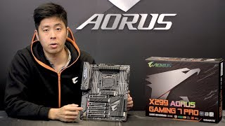 X299 AORUS GAMING 7 PRO Unboxing & Overview