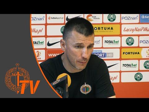 Wideo: Konferencja prasowa po meczu Warta Poznań - Chrobry Głogów