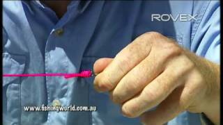 How to Series 1 - Tie a blood knot [VIDEO]
