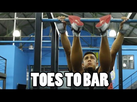 COMO HACER TOES TO BAR - PIES A LA BARRA