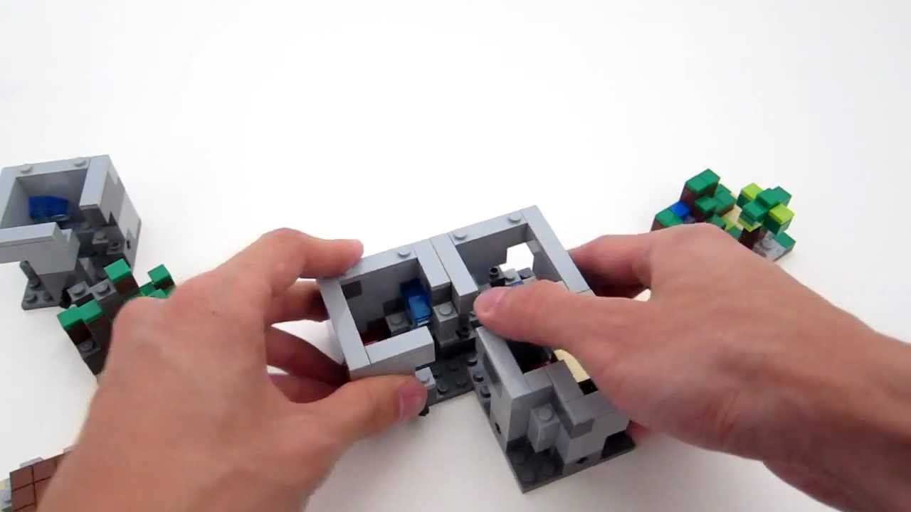 Lego Minecraft Set Hands-On Has Excited Me To The Point Of Licking Some Bricks