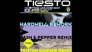 Tiësto ft. BT - Love Comes Again (Hardwell Rework) (Official Audio) Out Now On iTunes!
