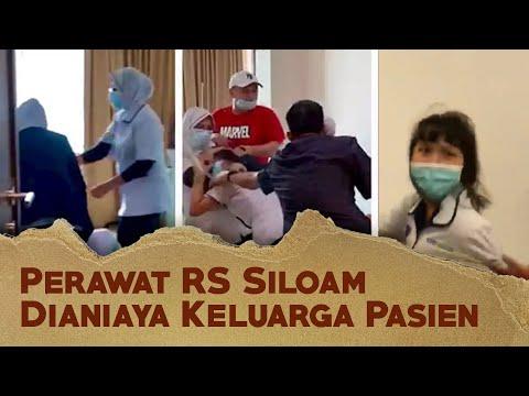 Perawat RS Siloam Palembang Dianiaya Keluarga Pasien