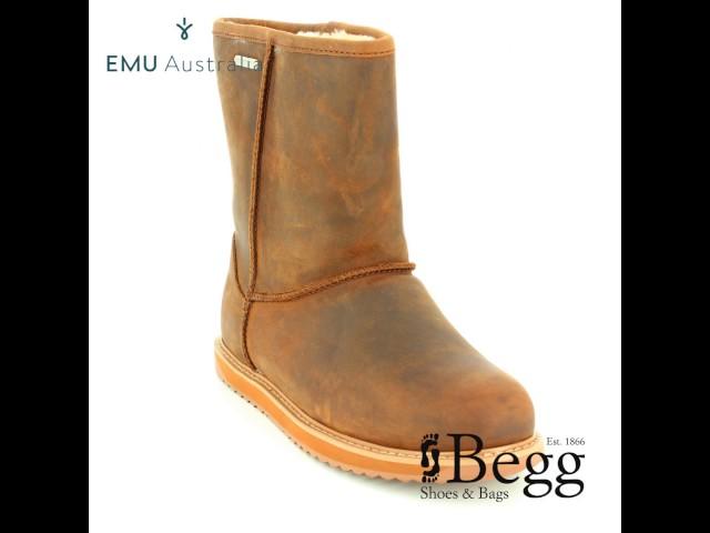 77c2495839 EMU Australia Paterson Lo W11349-20 Brown ankle boots