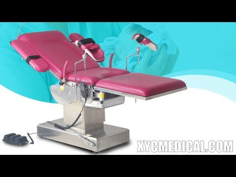 Multifunction obstetric delivery bed in hospital electric gynecological examination table