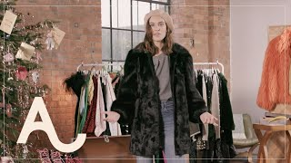 Alexa Chung Festive Style Challenge - 12 Looks In 12 Minutes | ALEXACHUNG