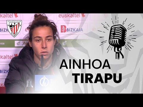🎙️ Ainhoa Tirapu I post Athletic Club 1-0 Valencia CF Femenino I J18 Primera Iberdrola