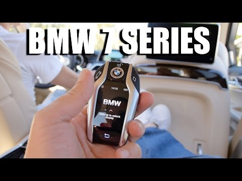 BMW 7 Series 2016 G12 (ENG) - First Drive and Review