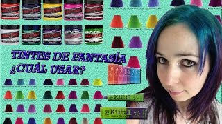 Tintes De Fantasía ¿Cuál Usar? ¿Manic Panic Sirve? Decolorar. Fantasy Hair Color And Bleaching