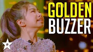 Singing Sensation Celine Tam Gets GOLDEN BUZZER On World's Got Talent 2019! | Got Talent Global