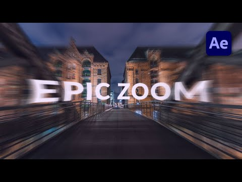 How to create an Epic Zoom in After Effects – TUTORIAL