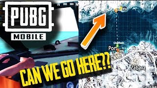 CAN WE GET TO NORTH ISLAND in VIKENDI?? PUBG MOBILE Update v0.10.0