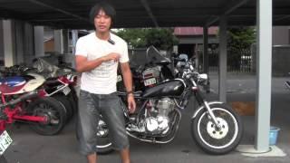 SR500 最終平成12年式 カフェレーサー参考動画