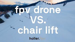 Empty Ski Resort Turned FPV Playground   4K
