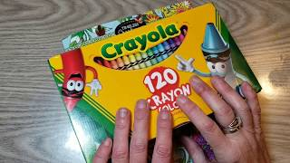 Crayola Crayons & Cra-Z-Art color & chat... because, why not?