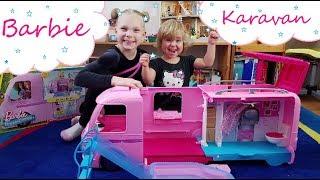 Barbie karavan od Mattela🎀🎀  | Testování hraček | Máma v Německu