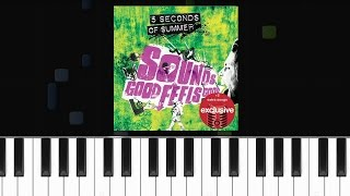 "5 Seconds Of Summer - ""The Girl Who Cried Wolf"" Piano Tutorial - Chords - How To Play - Cover"
