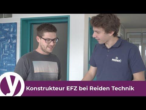 Eine Lehre als Konstrukteur/in EFZ bei Reiden Technik AG