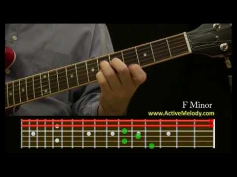How To Play an F Minor Chord on the Guitar