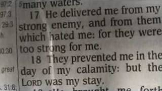 Psalm 18 King James Holy Bible