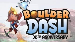 Picture of a game: Boulder Dash