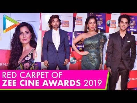 Bollywood Celebs Attend RED CARPET of Zee Cine Awards 2019 – Part 1