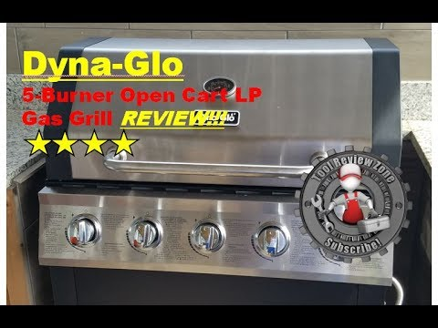 Dyna-Glo 5-Burner Open Cart grill review