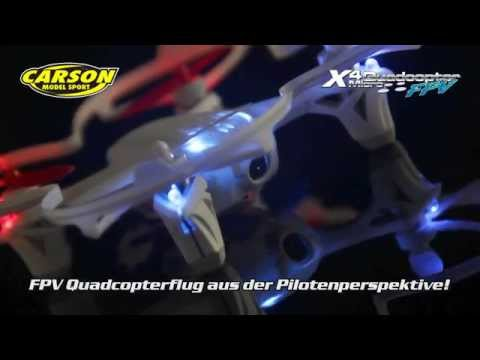 X4 Quadcopter Micro FPV 100 % RTF (500507065)