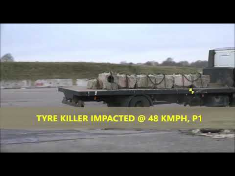 Physical Crash Test Tyre Killer