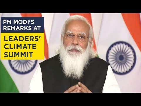 PM Modi's remarks at Leaders' Climate Summit