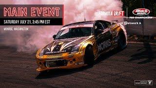 Formula Drift Monroe - Main Event LIVE!